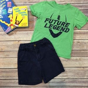 Size 3T Carter's Toddler Boys T-Shirt & Short Set